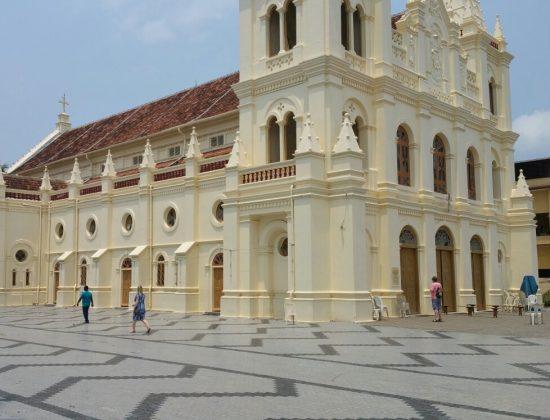 St Mary's Syro-Malabar Cathedral Basilica, Ernakulam