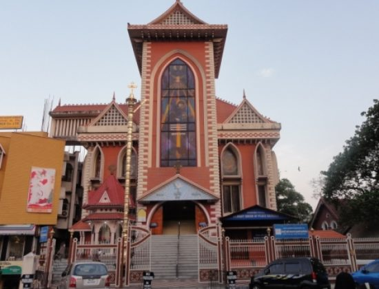 St Mary Queen of Peace Basilica, Trivandrum