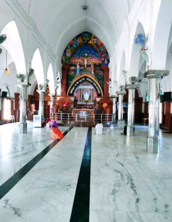 Basilica of Our Lady of Lourdes, Poondi