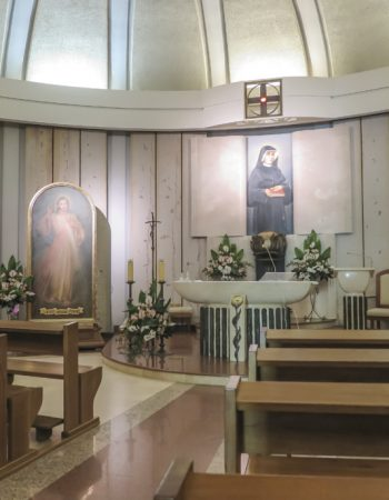 Divine Mercy Shrine, Krakow, Poland